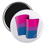 "Flying Bi Pride 2.25"" Magnet (100 pack)"
