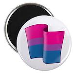 "Flying Bi Pride 2.25"" Magnet (10 pack)"