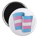 Flying Trans Pride Magnet