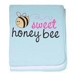 Sweet Honey Bee Infant Blanket
