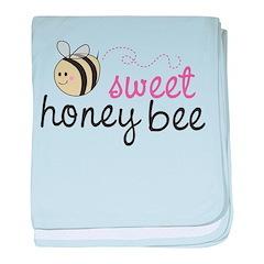 Sweet Honey Bee Infant Blanket