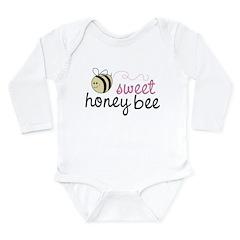 Sweet Honey Bee Long Sleeve Infant Bodysuit