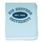 Big Brother University Infant Blanket