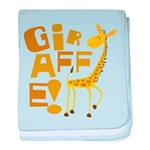 Giraffe! Infant Blanket