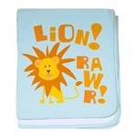 Lion Rawr Infant Blanket