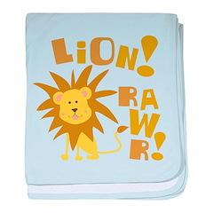 Lion Rawr Infant Blanket