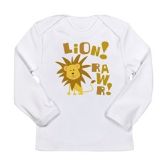 Lion Rawr Long Sleeve Infant T-Shirt