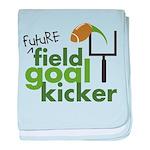 Future Field Goal Kicker Infant Blanket