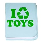 I Recycle Toys Infant Blanket