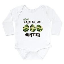 Easter Egg Hunter Long Sleeve Infant Bodysuit