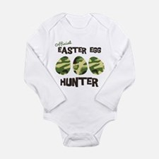 Easter Egg Hunter Long Sleeve Infant Bodysuit