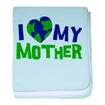 I Heart My Mother Earth Infant Blanket