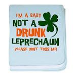 Baby Not Leprechaun Infant Blanket