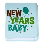 New Years Baby Infant Blanket