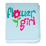 Flower Girl Infant Blanket