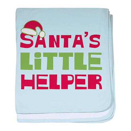 Santa's Little Helper Infant Blanket