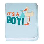 It's a Boy Infant Blanket
