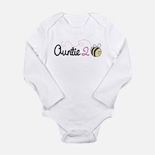 Auntie To Bee Long Sleeve Infant Bodysuit
