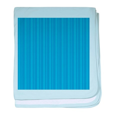 Blue Stripes Infant Blanket