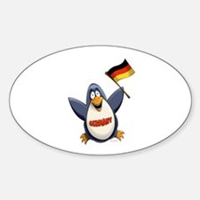 Germany Penguin Bumper Stickers