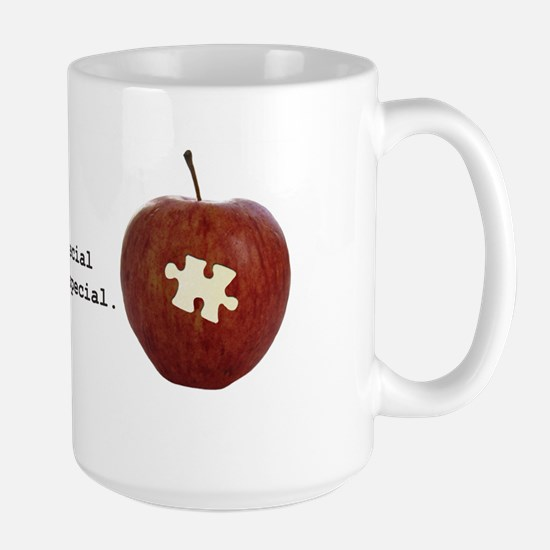 Autism Teacher Large Mug