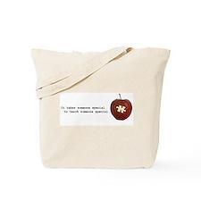 Autsim Teacher Tote Bag