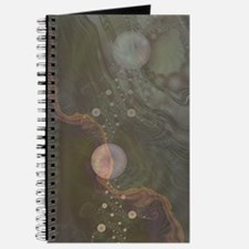 Midnight Bubbles Fractal Journal