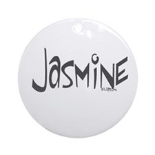 Jasmine Ornament (Round)