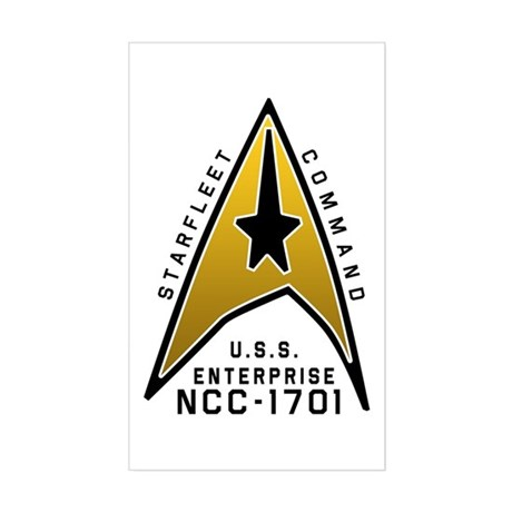 Command Badge Sticker (Rectangle)