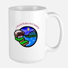 Rather be Camping Coffee Mug
