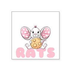 Nuts Sticker (Rectangle 10 pk)