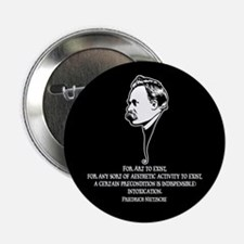 "Nietzsche -Art II 2.25"" Button"
