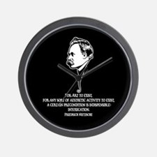 Nietzsche -Art II Wall Clock