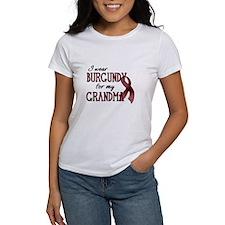 Wear Burgundy - Grandma Tee