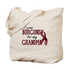 Wear Burgundy - Grandma Tote Bag