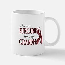 Wear Burgundy - Grandma Small Small Mug