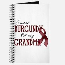 Wear Burgundy - Grandma Journal