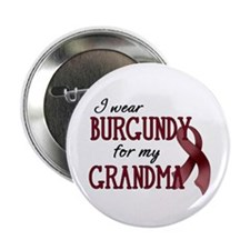 "Wear Burgundy - Grandma 2.25"" Button"