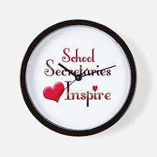 School secretaries Wall Clock