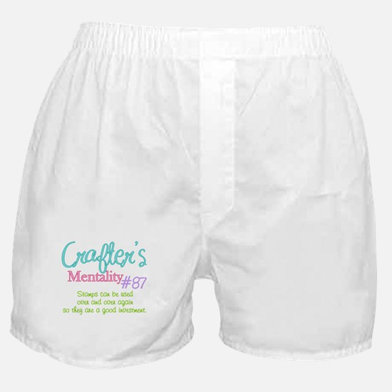 Crafter's Mentality #87 Boxer Shorts