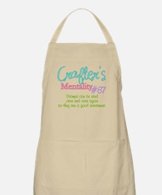 Crafter's Mentality #87 Apron