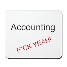 Accounting F*CK YEAH! Mousepad