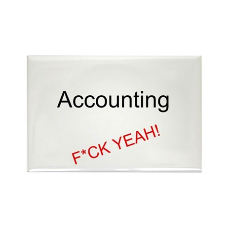 Accounting F*CK YEAH! Magnet