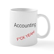 Accounting F*CK YEAH! Small Mugs