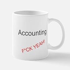 Accounting F*CK YEAH! Small Small Mug
