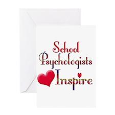 Teachers Inspire Psychologist Greeting Cards