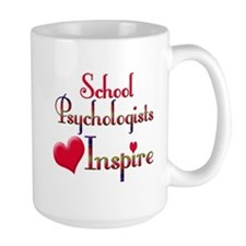 Teachers Inspire Psychologist Mugs
