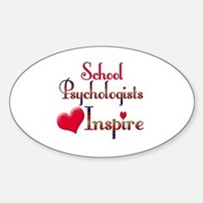 Cute School teacher Sticker (Oval)