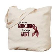 Wear Burgundy - Aunt Tote Bag