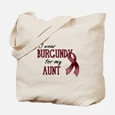 Wear Burgundy - Aunt Tote Bag